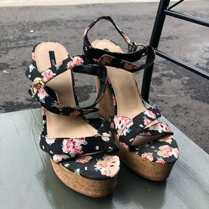 Forever 21 summer wedge heel
